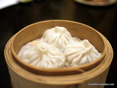 """Shanghai pork dumplings """"xiao long bao"""""""