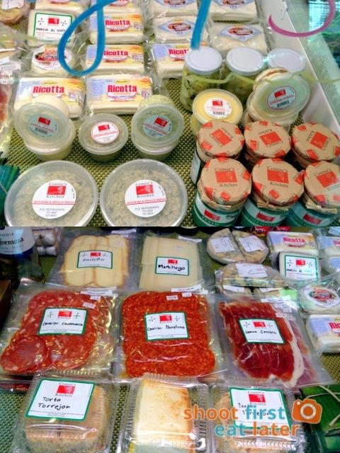 Connie's Kitchen Deli - Connie's Kitchen cheese, chorizo, jamon serrano