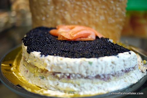 caviar pie