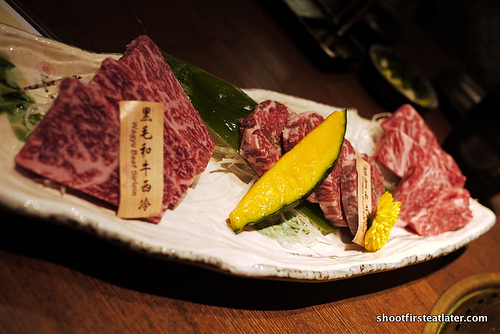 assorted wagyu combo