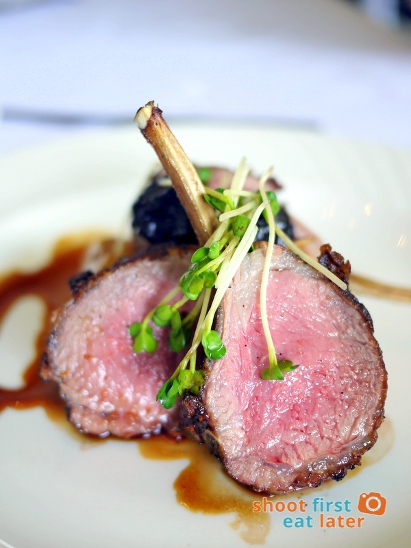 Antonio's Tagaytay- Roasted Lamb Cutlets on Confit Potato with Caramel & Prunes P2,000