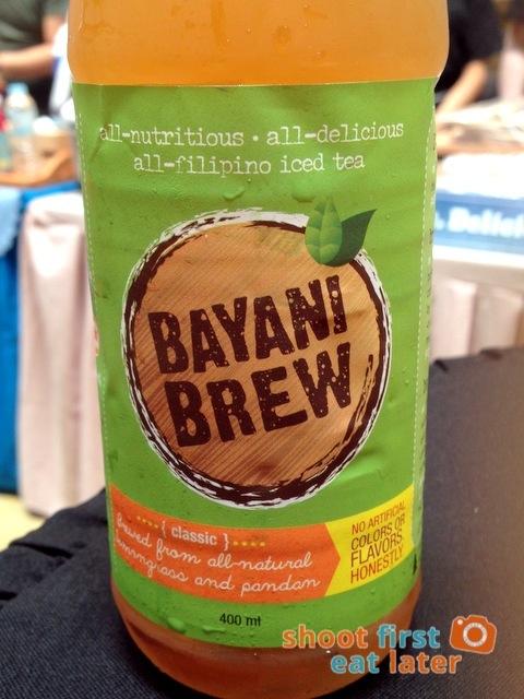 Bayani Brew lemongrass & pandan iced tea