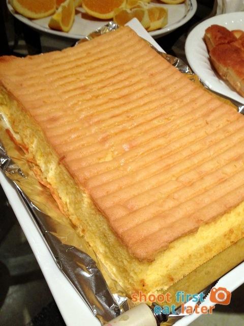 Vargas Kitchen butter cake P600