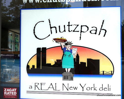 Chutzpah Deli-1