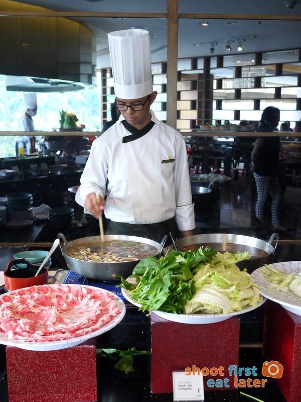 Inagiku, Makati Shangri-La- sukiyaki