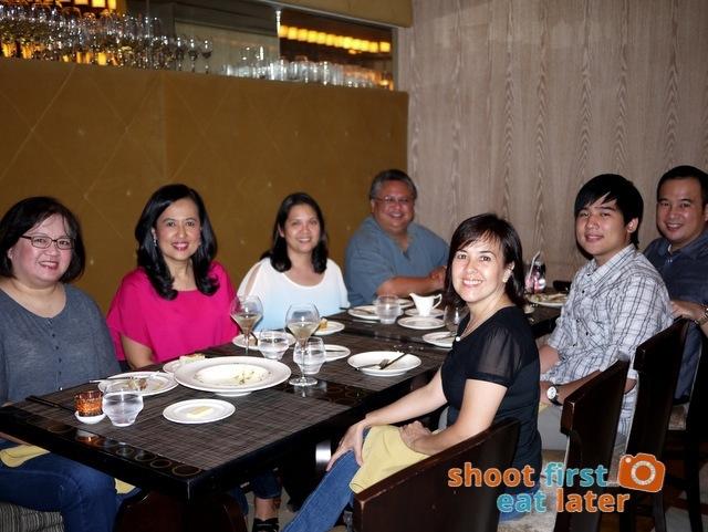 Rizette's birthday at Enderun's Restaurant 101