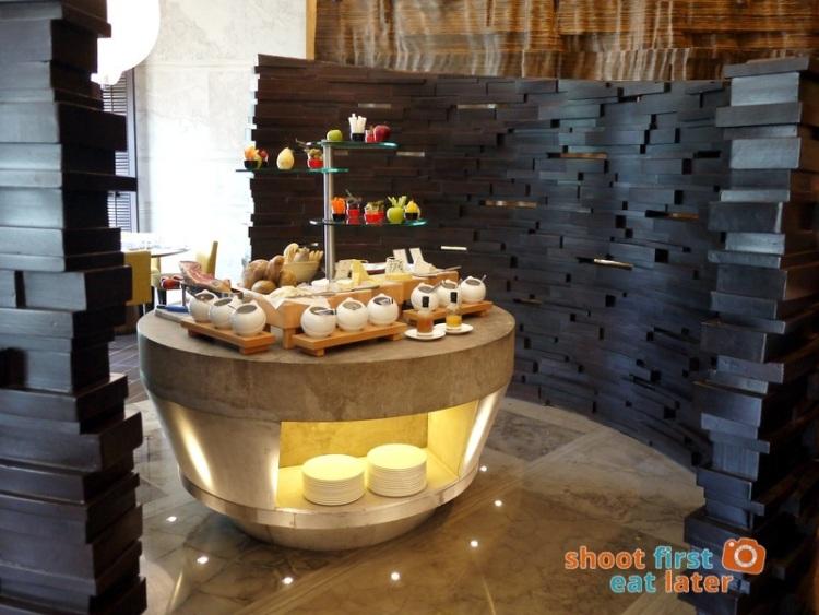 Marco Polo Hotel Ortigas Cucina Restuarant Buffet- cheese & charcuterie station