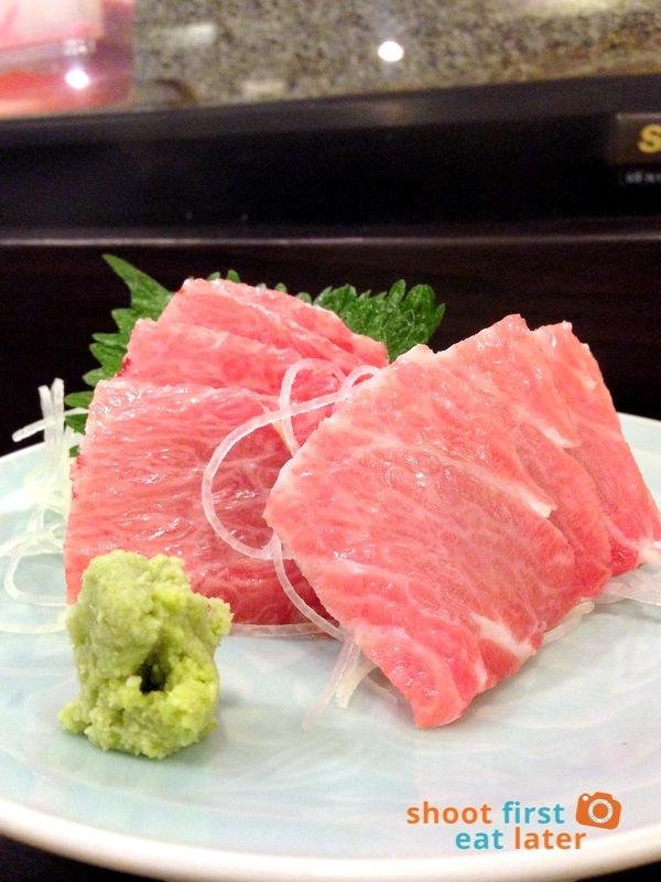Tanabe Japanese Resaurant- Chu Toro (fatty tuna) sashimi P1,800