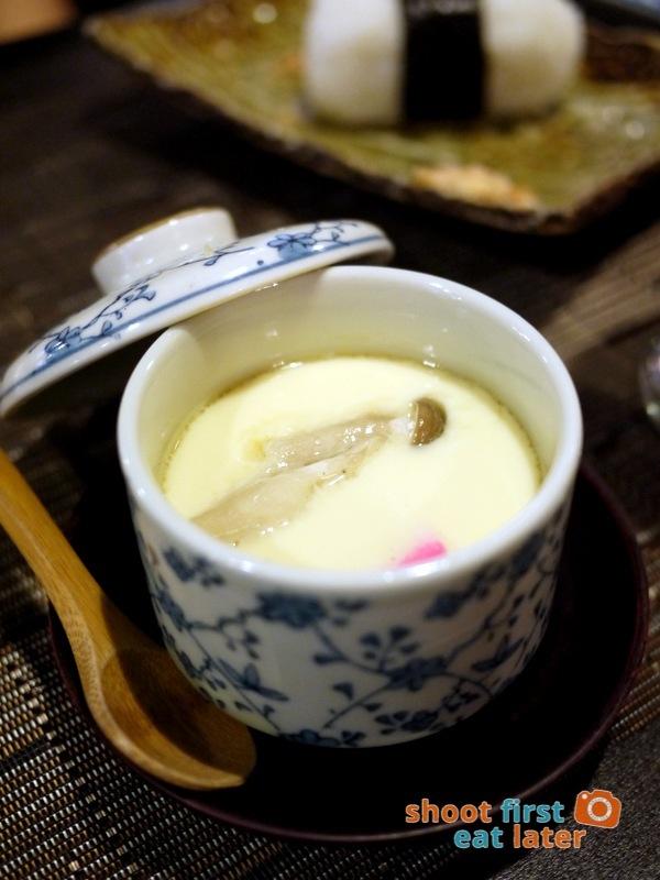 Toki Japanese REstaurant- chawan mush P200