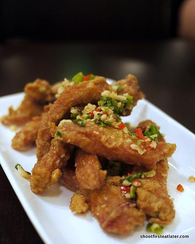 fried pork spareribs w/ spicy salt