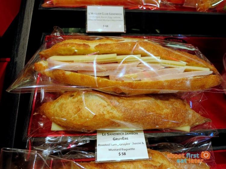 Le Salon de Thé de Joel Robuchon (Elements HK) - Ham and Gruyere sandwich HK$58-001