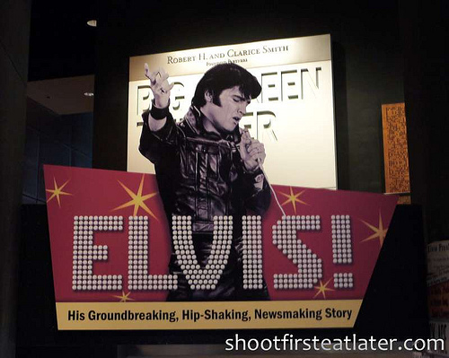 Elvis! at Newseum