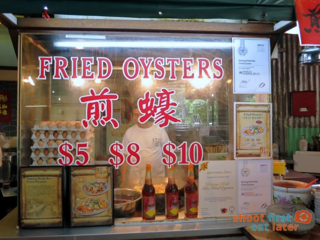 Singapore Food Trail - Katong Keah Kee Fried Oysters