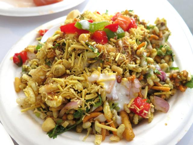 India's bhelpuri