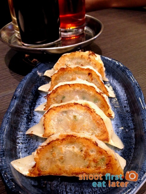Hokkaido Ramen Santouka- Kurobota pork gyoza P240
