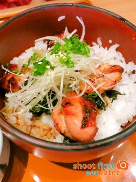 OOtoya HK- grilled chicken rice & udon set HK$75-001