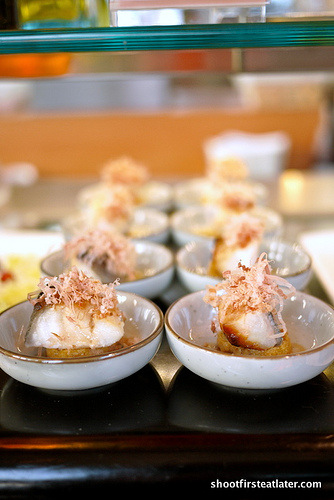 baked miso cod fish w/ Japanese tofu