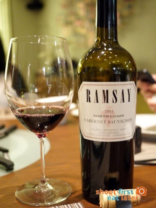 Allium Restaurant - Ramsay Cabernet Sauvignon