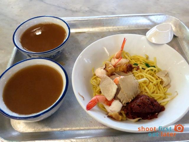 signature prawn noodle (dry)