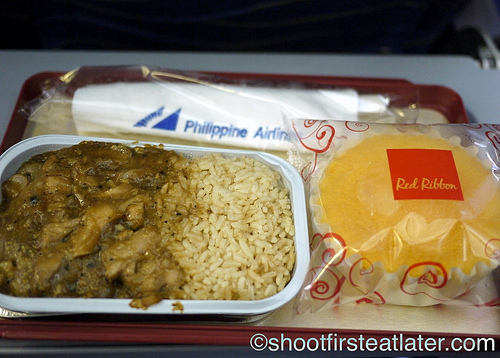 philippne airlines economy meals