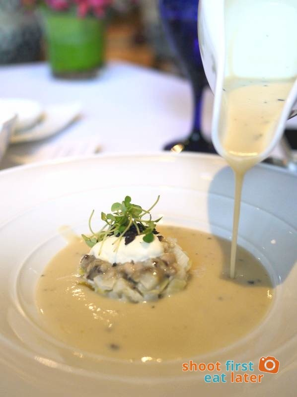 Mandarin Oriental Manila - The Tivoli- Richard Toix Degustacion Menu - Potato & Leek Soup New Style