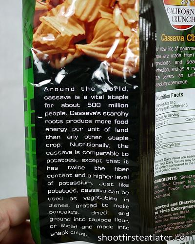 California Crunch Cassava Chips-3