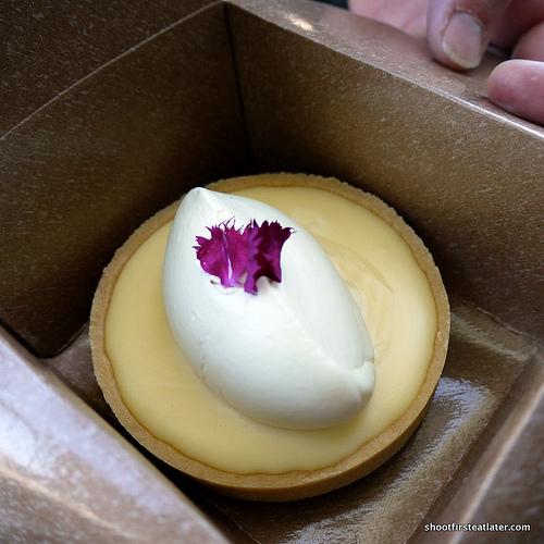 Tartine Bakery lemon cream tart