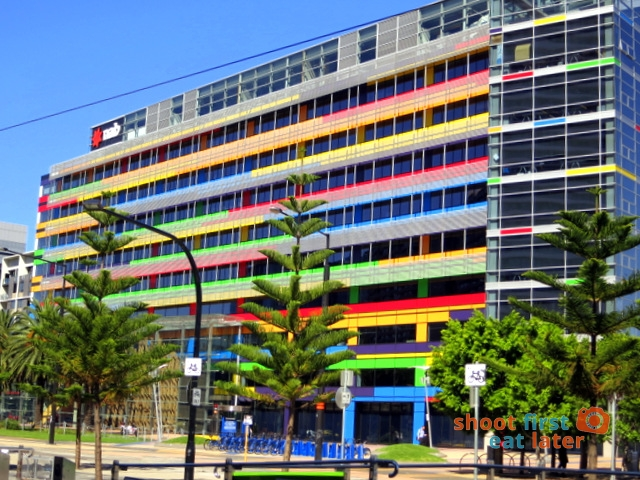 National Australia Bank headquarters Docklands Melbourne