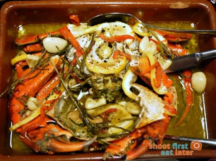 Calderon Restaurant - Cangrejos de Calderon (baked crab) P1,300