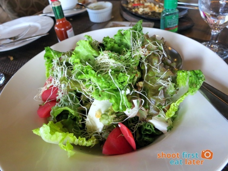 Hill Station Baguio- Hill Station Green Salad P240