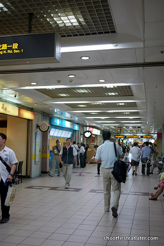 Taipei underground shopping-5