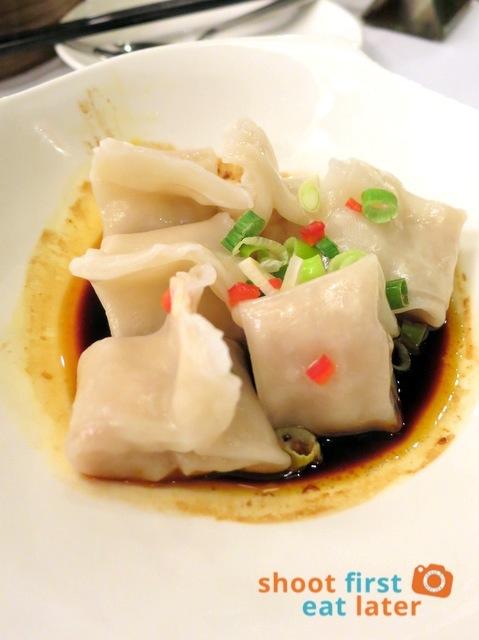 Fu Sing Seafood Restaurant- spicy dumplings