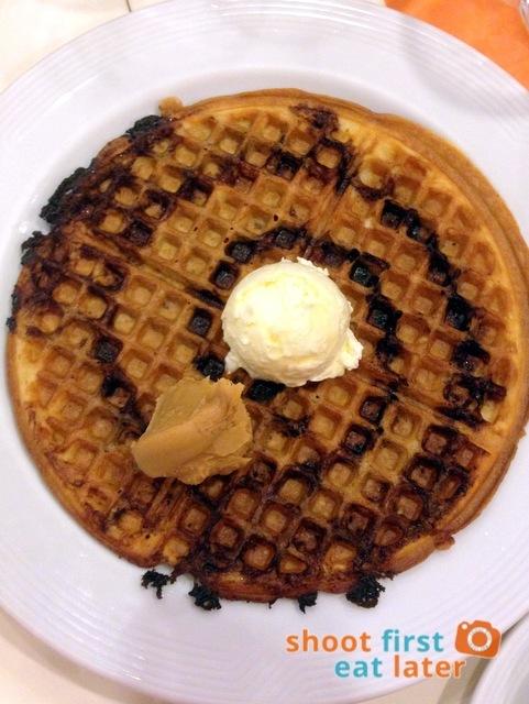 Pancake House- Chocolate Marble Waffle P175