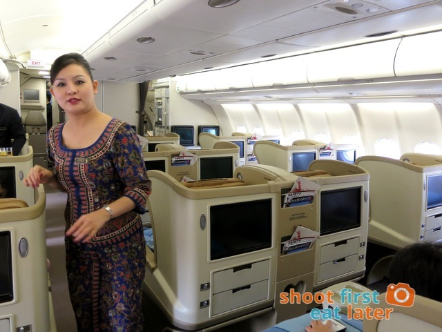 SQ 919 A330-300 Mnl-Sin Business Class