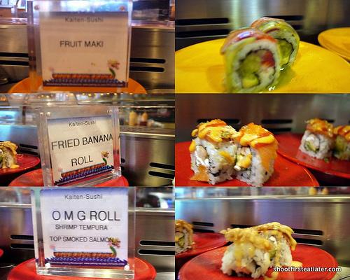 unique sushi