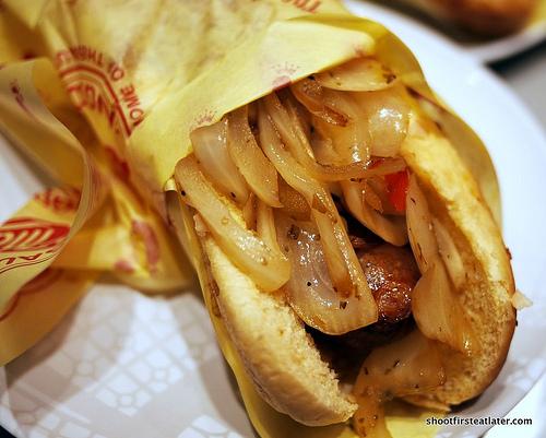 Jody Maroni Polish sausage