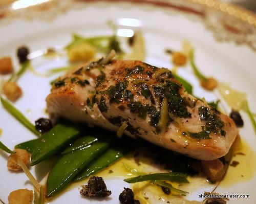 salmon grenoblaise