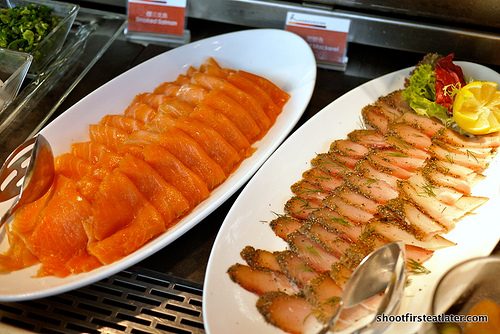 smoked salmon & mackarel