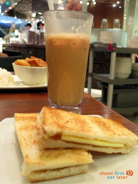 Tea Loft (Ion Mall)- teh tarik S$2 kaya toast S$1.80