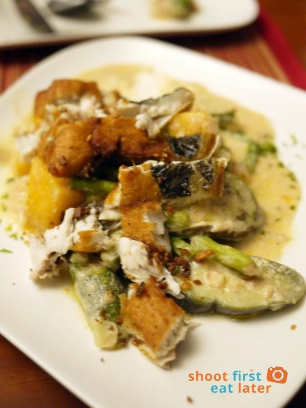 Antojos Restaurante- Creamy Pinakbet Pisto with Bangus Belly P210