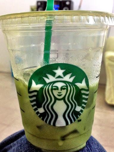 Starbucks green tea latte