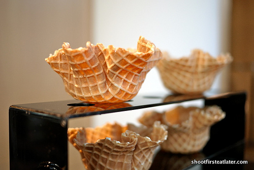 waffle cups