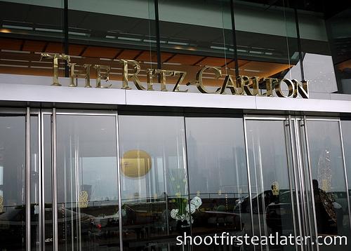 Tosca at the Ritz-Carlton Hong Kong