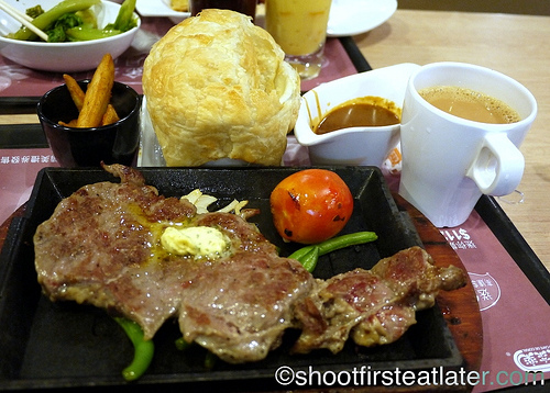 Cafe de Coral's New Zealand Sirloin Steak