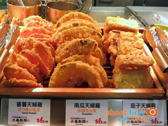 Marugame Udon - veggie tempura
