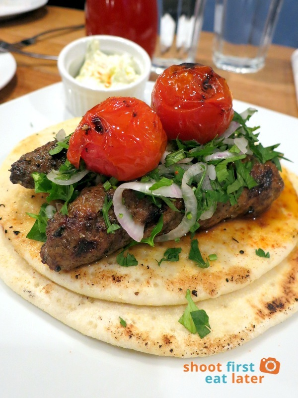 Cyma Restaurant (Shangri-La)- Ground Lamb Souvlaki P495