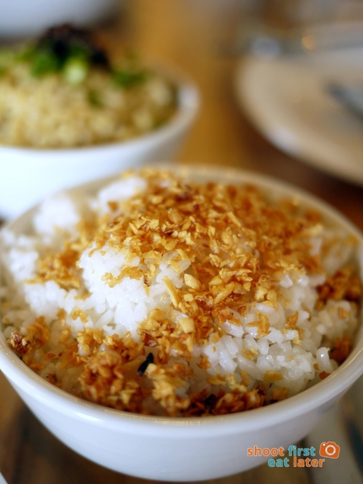 Sarsa Kitchen+Bar- Garlic Rice P45