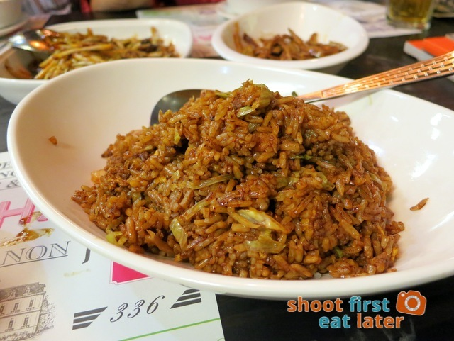 336 special fried rice HK$68