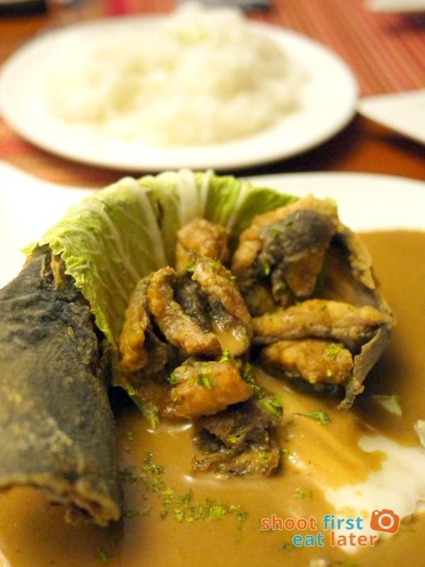 Antojos Restaurante- Adobong Hito sa Gata P255