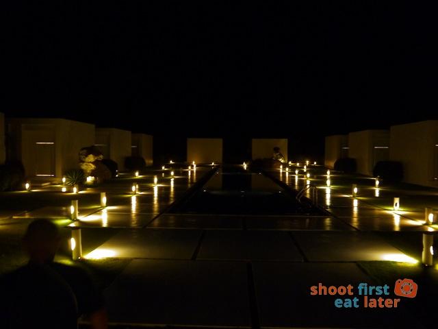 The Balesin Spa at night 1